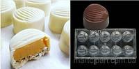 Большой Боб поликарбонатная форма для шоколадных конфет