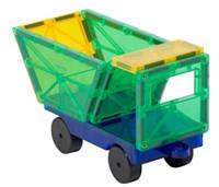 Конструктор Playmags 2 машинки, магнитный конструктор
