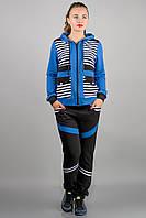 Спортивный костюм Анжелика (электрик полоска)