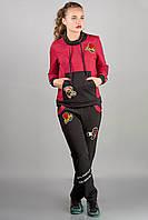 Спортивный костюм Драйв (бордовый)