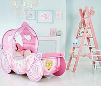 Кроватка детская Карета Принцессы Дисней с лампочками HelloHome от Worlds Apart