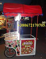 """Тележка """"Pizza"""" для развозки пиццы"""