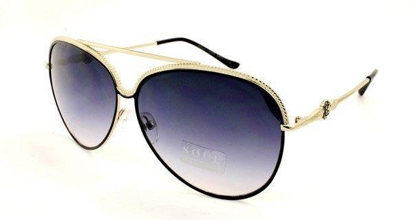 Сині сонцезахисні окуляри авіатори Soul