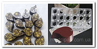Капля магнитная форма для шоколадных конфет, фото 1