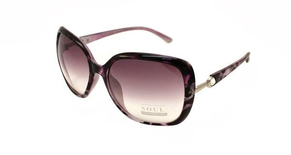 Красивые женские очки солнцезащитные бренд лето 2017 Soul