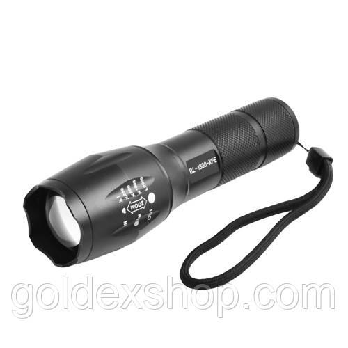 Ліхтар Police 1830-XPE/B63, ак.18650, zoom, комплект