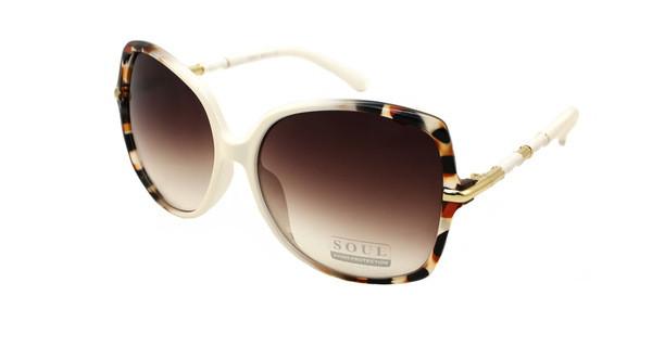 Жіночі леопардові поляризуючі окуляри від сонця мода 2017 Soul