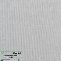 Рулонные шторы Одесса Ткань Скрин-лайт Бело-серый