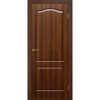 Двери межкомнатные Омис Классика ПГ ПВХ глухая, цвет орех
