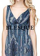 Платье  длинное турецкий огурец темно-серое