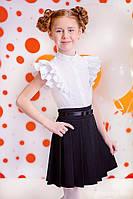Шкільна спідниця для дівчинки: 7014-2 синя 146