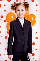Шкільний піджак для дівчинки Веснушка 9002-1 чорний