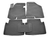 Коврики в салон Mazda 6 2013-  (5 шт) каучук ТЭП