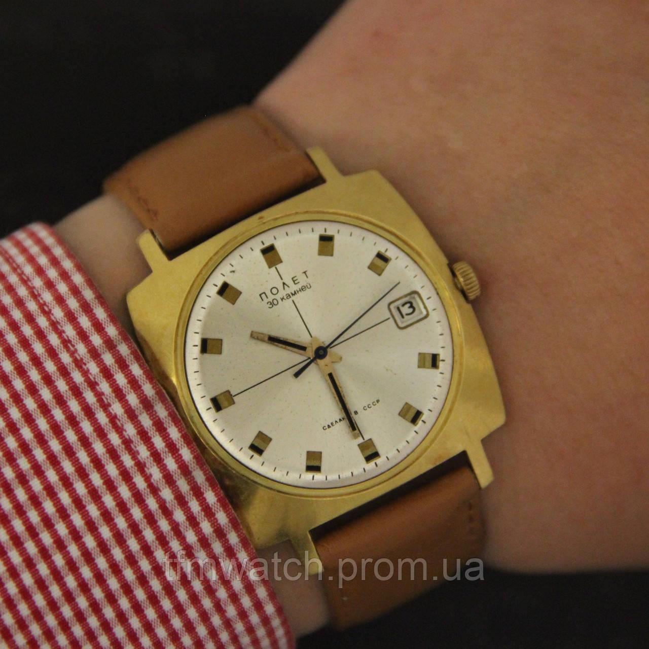 Наручные часы мужские полет ссср купить часы болдинская осень ника