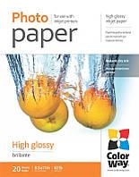 ColorWay Фотобумага CW глянцевая 230g/m2, LT, 20л (PG230020LT)