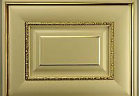 Фасад из массива Флорида с золотой патиной