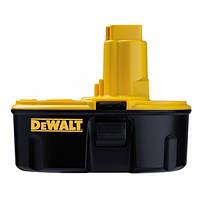 Акумулятор DeWalt DE9503, NiMH, 18 V, 2,6 А/ч, 3000 циклів.