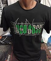 Мужские турецкие брендовые футболки Hugo Boss реплика