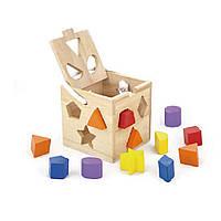 """Сортер """"Кубик"""" (53659), Viga Toys"""