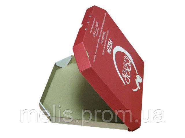 Коробка под пиццу с логотипом
