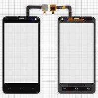 Сенсорный экран для мобильного телефона Fly IQ4416, черный