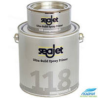 Грунтовка чистовая эпоксидная SEAJET 118 защита от осмоса вздутия серебро 2.21л