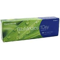 Однодневные контактные линзы для глаз Biomedics One day (30 шт)