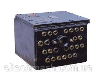 БСВ-1М, БСВ-2, Блок соединительный типа БСВ для рудничных аккумуляторных электровозов.