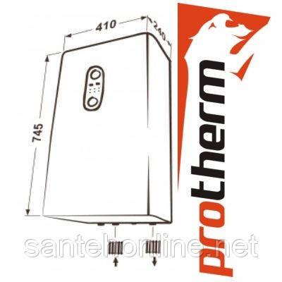 Котёл электрический Ray (Скат) 12K Protherm (6 + 6 кВт) 380В