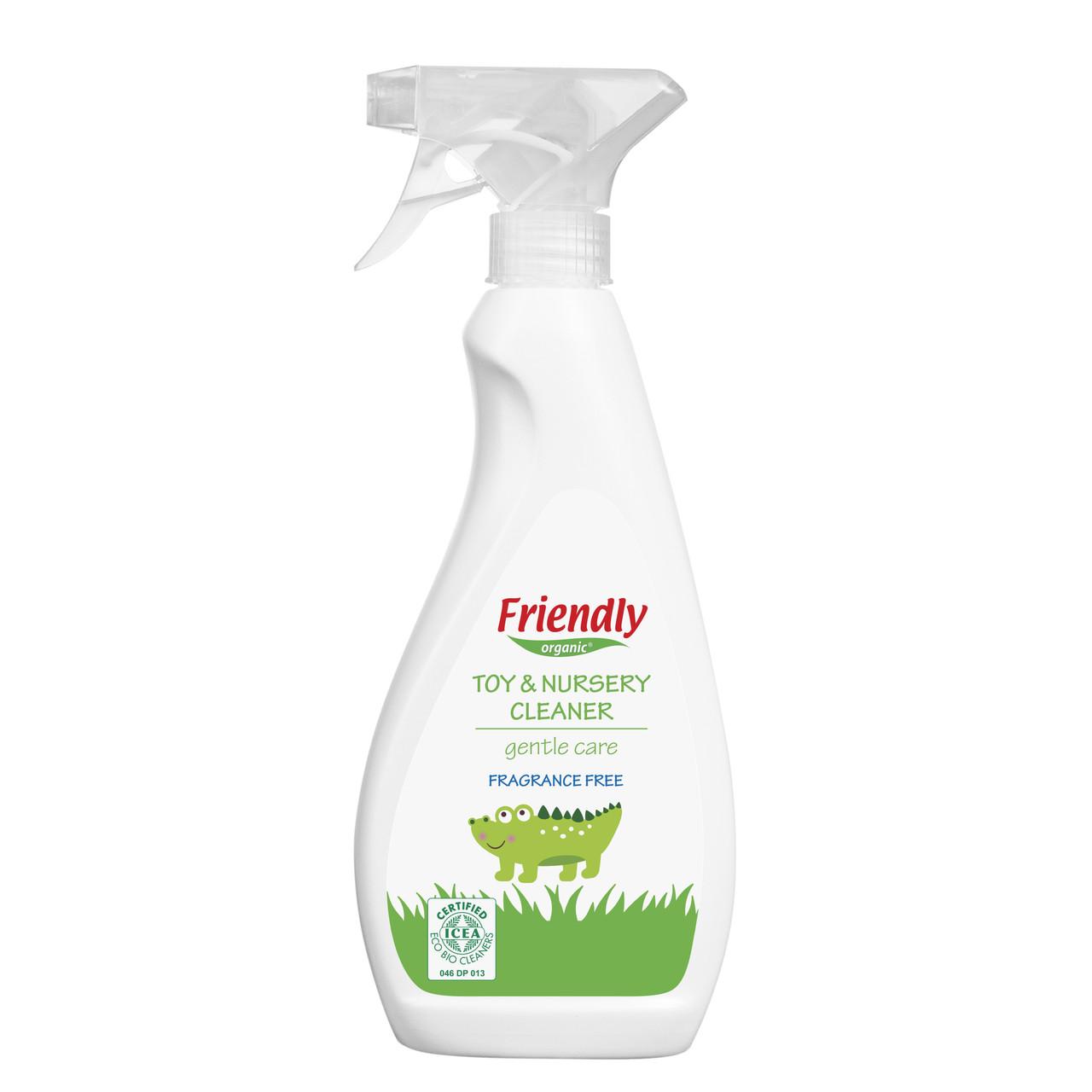 Органическое очищающее средство для детской комнаты и игрушек Friendly organic 500 мл