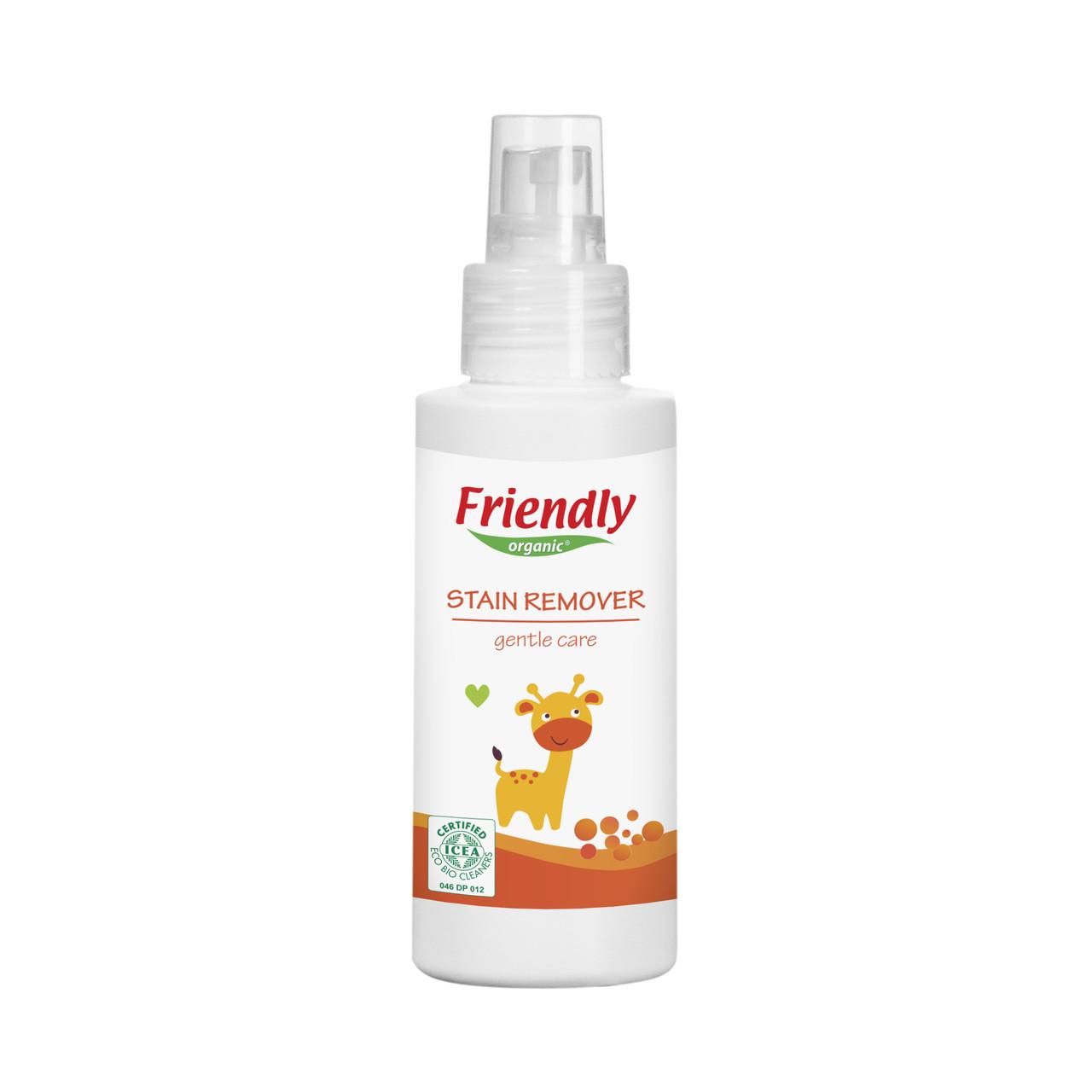 Органический выводитель пятен и запахов Friendly organic100 мл