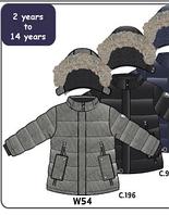 Deux par Deux Зимняя куртка для мальчика Deux par Deux W54 серая