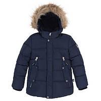Deux par Deux Зимняя куртка для мальчика Deux par Deux W54 т.синяя