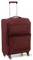 Дорожный чемодан из нейлона на 4-х колесах (средний) Roncato Venice Deluxe 405172 красного цвета