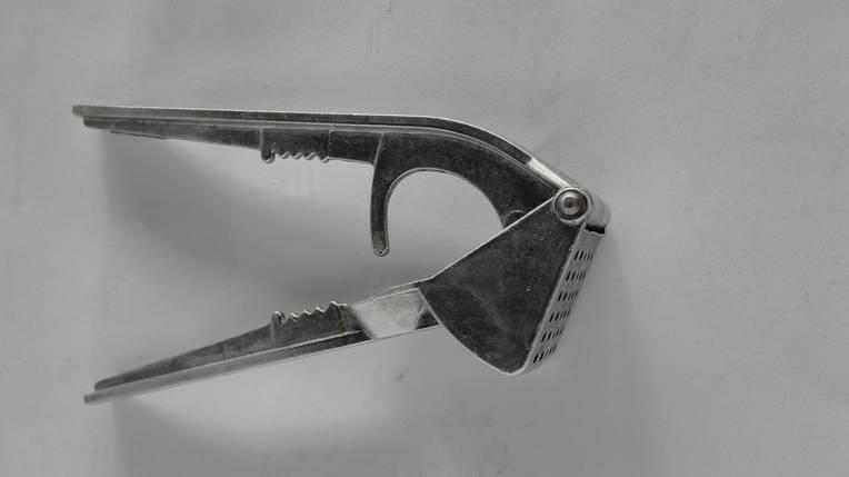 Чесночница квадрат алюминевая, фото 2