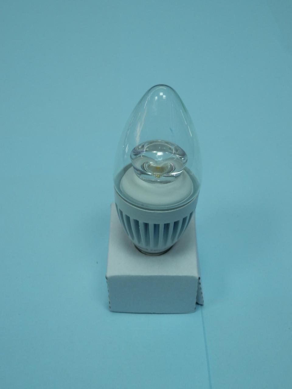 Светодиодная лампа Mastak CAD06CS ( 4,3W LED прозрачная 230V 4200K E14 )