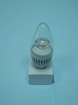 Світлодіодна лампа Mastak CAD06CS ( 4,3 W LED прозора 230V 4200K E14 )