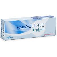 Однодневные контактные линзы для глаз One Day Acuvue TruEye (30 шт)