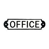 Декоративная табличка [ Office ] (из дерева)