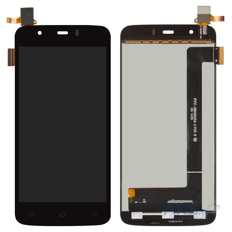 Дисплей (LCD) Fly iQ4414 Quad EVO Tech 3 с сенсором чёрный