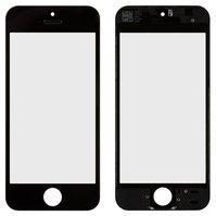 Стекло корпуса для мобильных телефонов Apple iPhone 5S, iPhone SE, с р