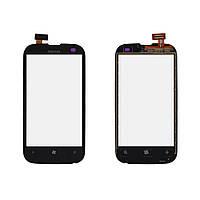 Сенсор (Touch screen) Nokia 510 Lumia черный оригинал
