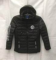 Куртка удлиненная подростковая для мальчика 10-14 лет,хаки