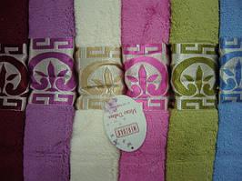 Полотенца для лица/бани 50*90 - 6 шт., Merzuka Micro delux 100 % cotton махра - Турция