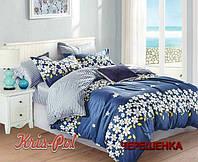Полуторный набор постельного белья 150*220 из Сатина №734AB KRISPOL™
