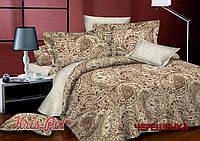 Полуторный набор постельного белья 150*220 из Сатина №864AB KRISPOL™
