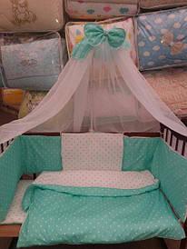 Детское постельное белье, комплекты из 9, 8 и 3-х предметов, Украина