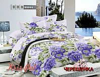 Полуторный набор постельного белья 150*220 из Сатина №32316 KRISPOL™