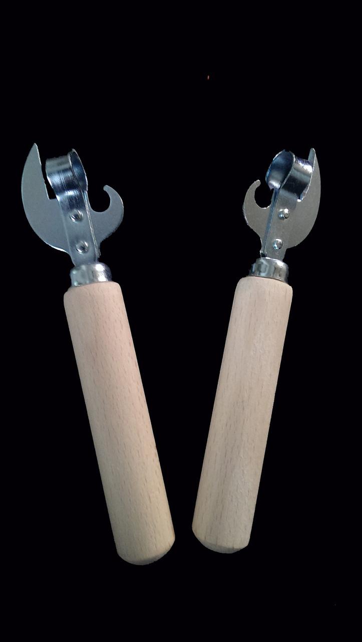 Открывалка деревянная  многофункциональная консервной нож