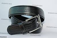 """Ремень мужской брючный,шпенек черный (кожзам, 35 мм.) """"Remen"""" - купить оптом со склада на 7км LM-638"""